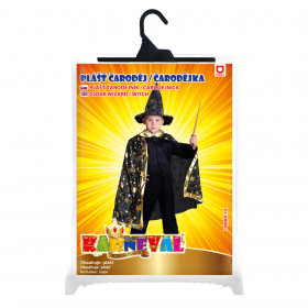 the witch overcoat with stars