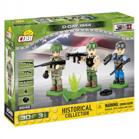 Figures with accessories D-Day 1944