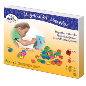 the Magnetic Alphabet game