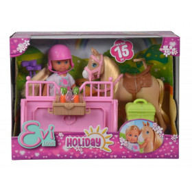 the Eve doll with horse