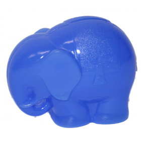 the plastic money box elephant