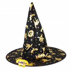 the witch/halloween hat, for children