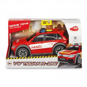 VW Tiguan R-Line Fire Car