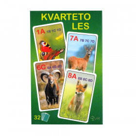 the Quartet card game - the Forest