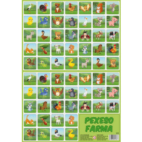 the Pexeso pairs memory game - the Farm