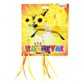 the set of hippies yellow 4 pcs