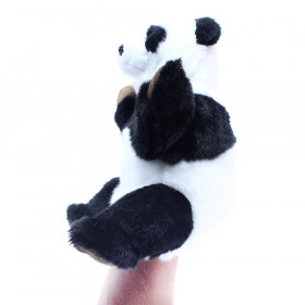 the cuddly hand puppet panda, 28 cm