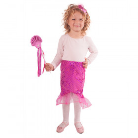 the mermaid skirt with wand & headdress