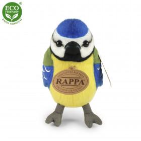 the plush bird Chickadee, sound, 11 cm