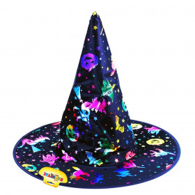the witch hat with pictures, for adult