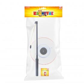 Halloween lantern 15cm glowing wand 39cm