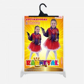 Children's cowgirl costume (M)