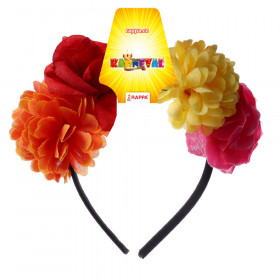Flower headband for adults