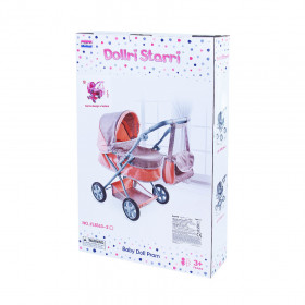 Doll stroller pink