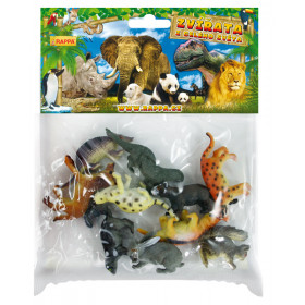 the forest animals, 10 pcs in a package