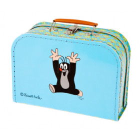 the suitcase Mole and lion, small