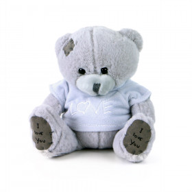 the plush bear 2 kinds, 15 cm