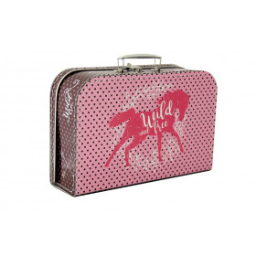 the horse suitcase, large
