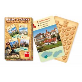 the quartet card game Castles