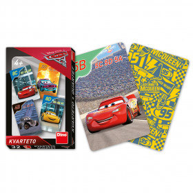 the quartet card game Cars 3