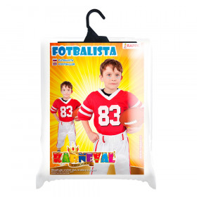 the football player costume (M)