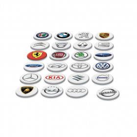the Pexeso Memory Game Car Brands