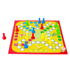 the game Ludo, small