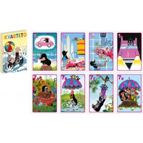the cards game Quarteto The Mole
