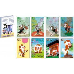 the cards game Quarteto Locomotive