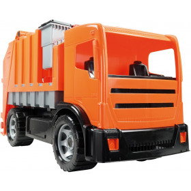 the garbage truck 2 axles
