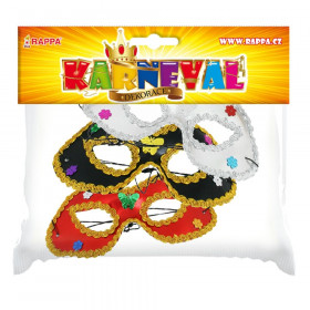 the eye mask with decoration 3 types
