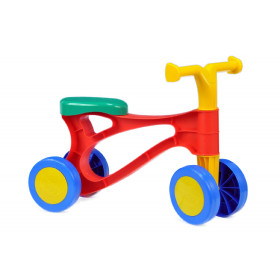the bounce / rolocycle plastic, colored