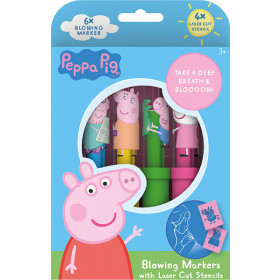 the blow markers Piggy Peppa
