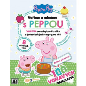 Stickers We cook & eat sweets Peppa Pig