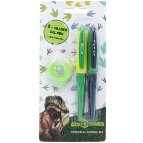 Eraser pens in a Dinosaur set