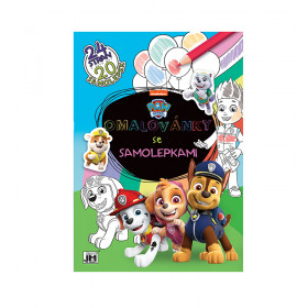 Exercise book with Paw Patrol stickers