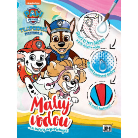 Water A4 Paw Patrol coloring page