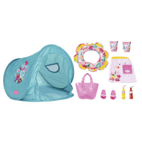 BABY born Set with beach tent