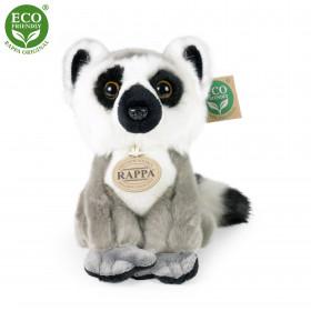 the sitting plush lemur, 18 cm