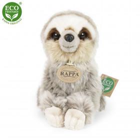 the sitting plush sloth, 18 cm
