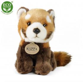 the plush red panda, sitting, 18 cm