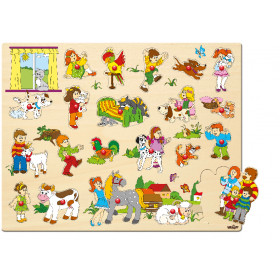Puzzle- Large with handles