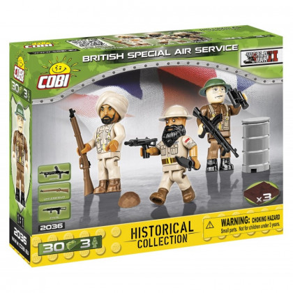 Figures with British Special Air