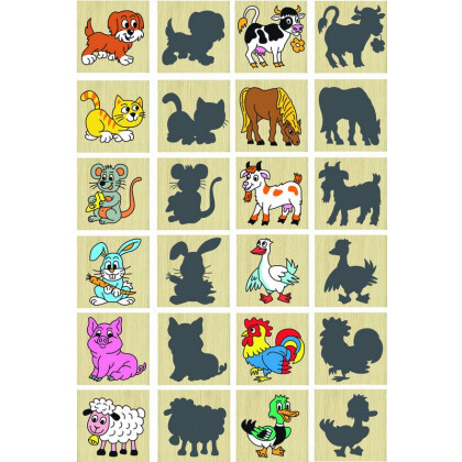 Memory animals and their shadows