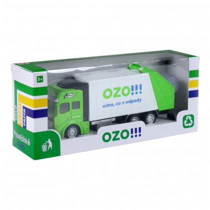 the metal garbage truck OZO !!!
