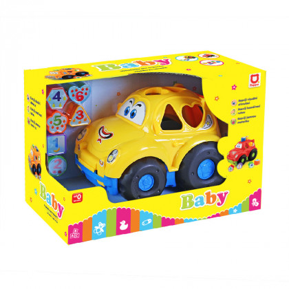 Car insertion puzzle for babies 2 kinds