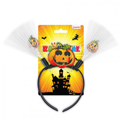 Halloween headband with light for kids