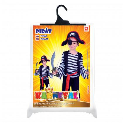 the children's pirate costume (M)
