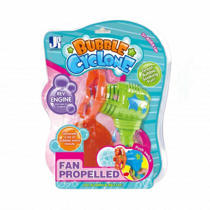 Bubble gun with bubble blower