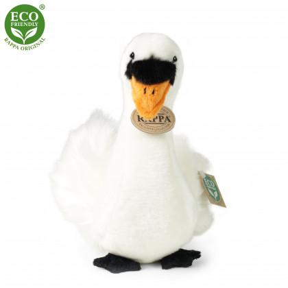 the plush bird swan sitting, 23cm